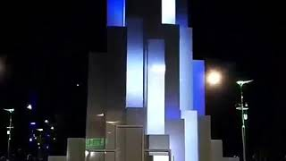 В Запорожье в парке Климова открыли свето-музыкальный фонтан
