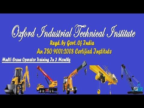 Heavy Equipment Operator Training - Oxford ITI