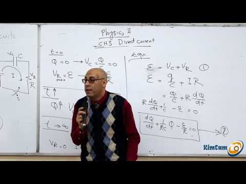 Lecture 8 part 3 - Direct current (RC Cirquits)