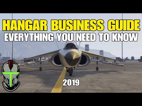 GTA ONLINE: HANGAR BUSINESS GUIDE ***EVERYTHING YOU NEED TO KNOW*** (2019)