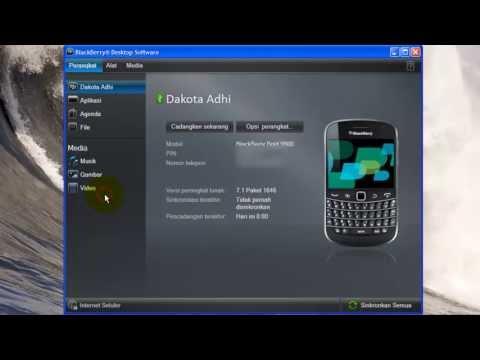 Cara Backup Blackberry