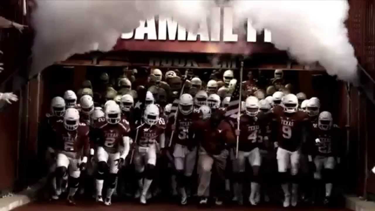 Texas Longhorns 2015 2016 Football Pump Up