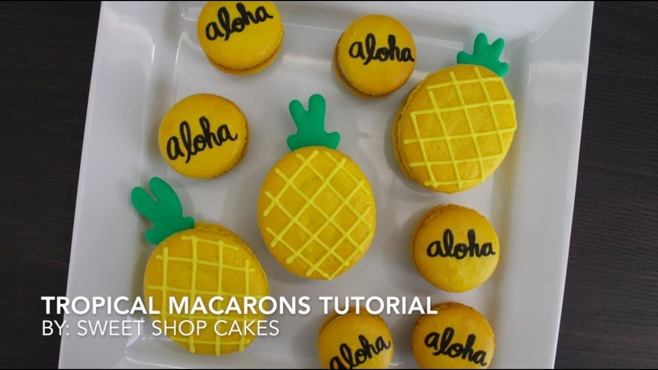 recipe: pineapple macaron filling [15]