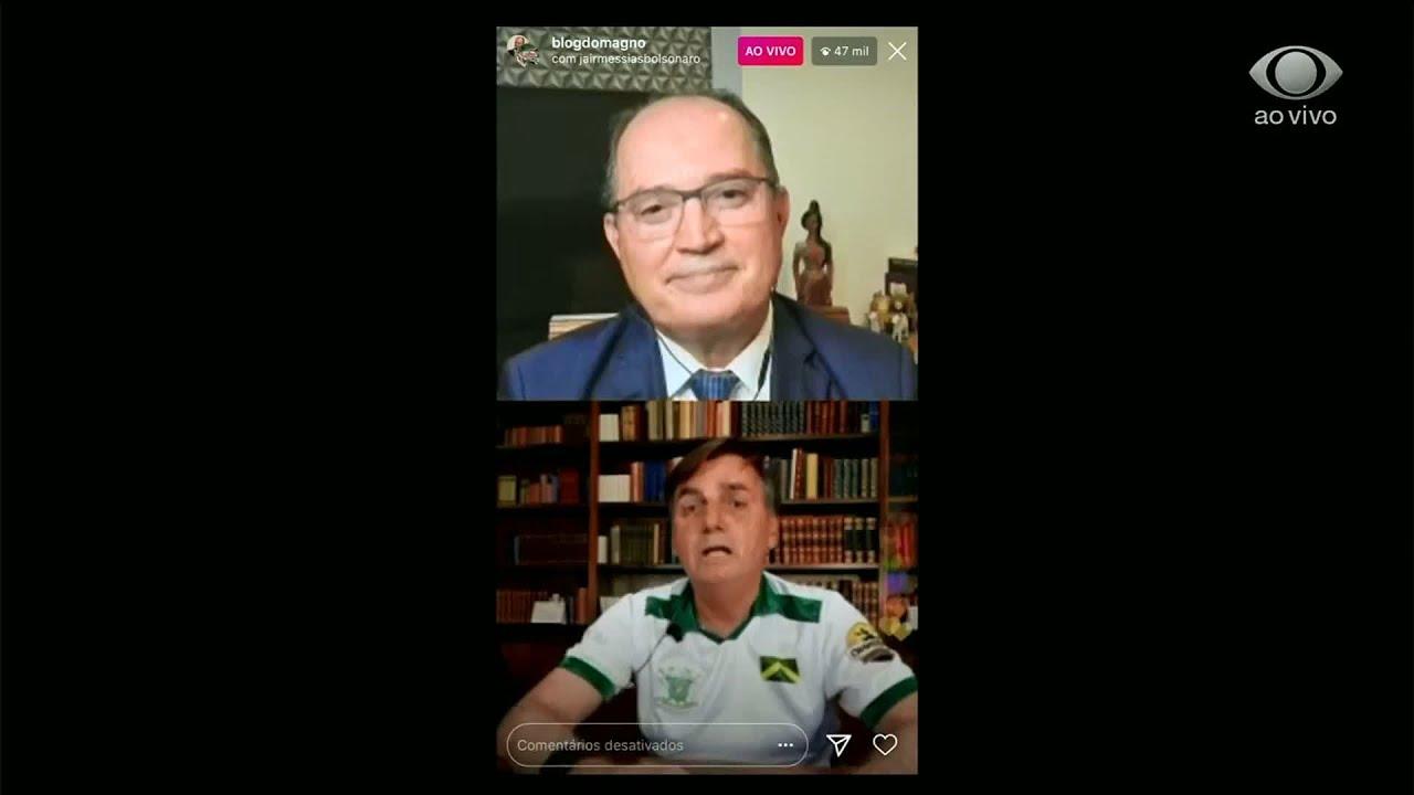 Notícias - Bolsonaro diz que protocolo da cloroquina será assinado nesta quarta-feira (20) - online