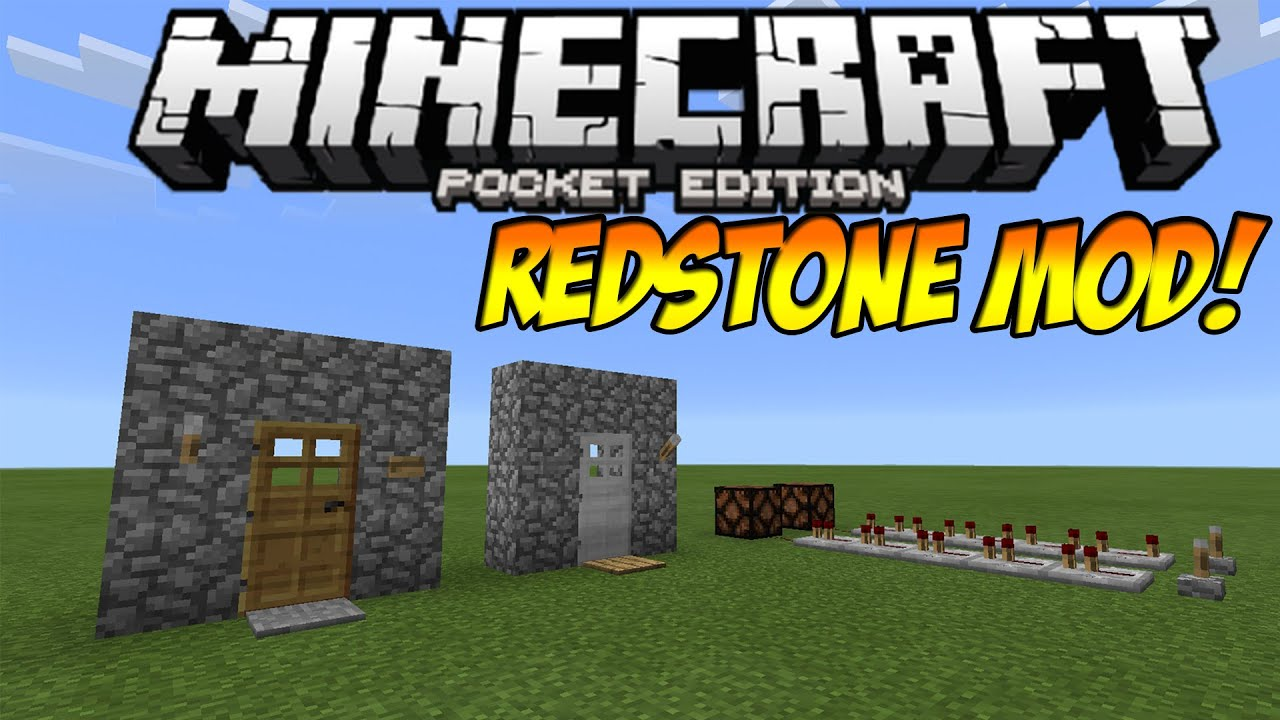 0111 Redstone Mod Sticky Pistons More Minecraft Pocket Project Walkthru Digital Clock W Edition Youtube