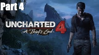 Uncharted 4 - Gameplay Walkthrough Part 4 | Twitch Livestream