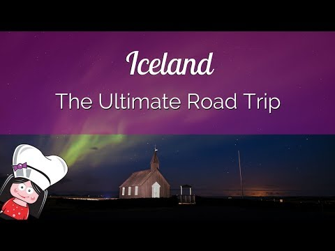 ICELAND ROAD TRIP April 2017 - South and West of Iceland, Northern Lights, Horses, Waterfall!