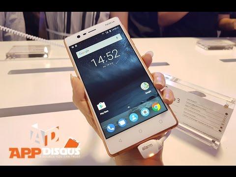 คลิปพรีวิวสมาร์ทโฟน Nokia 3, Nokia 5 และ Nokia 6 ลองเล่นเครื่องจริงในวันเปิดตัว