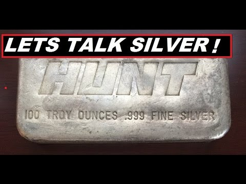 LETS TALK SILVER THE  HUNT BROTHERS