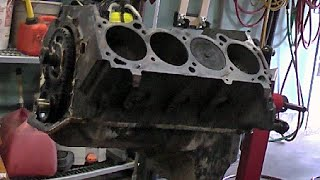 455 BUICK ENGINE CYLINDER HEAD REMOVAL: PART 6