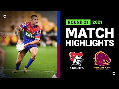 Download Knights v Broncos Match Highlights   Round 21, 2021   Telstra Premiership   NRL