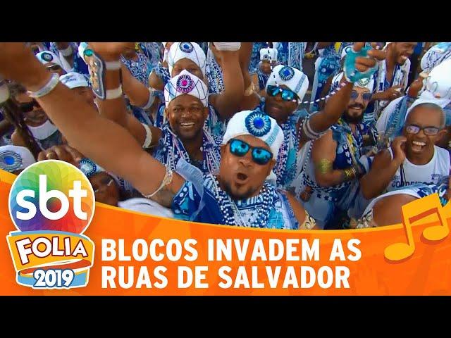 Blocos invadem as ruas de Salvador | SBT Folia 2019