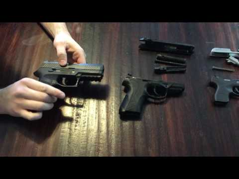 4 compact pistols that are easy to takedown for cleaning