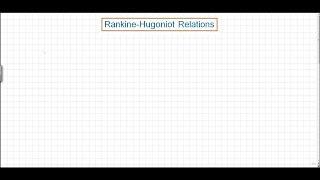 UQx Hypers301x 3.4.2v1 Rankine Formulation