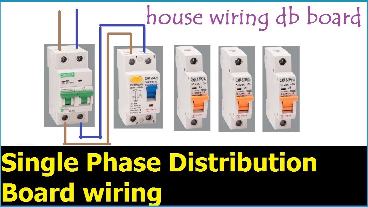 How To Wire An Electrical Panel Youtube