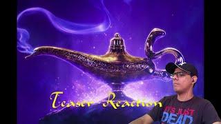 ALADDIN Teaser TRAILER REACTION!!!