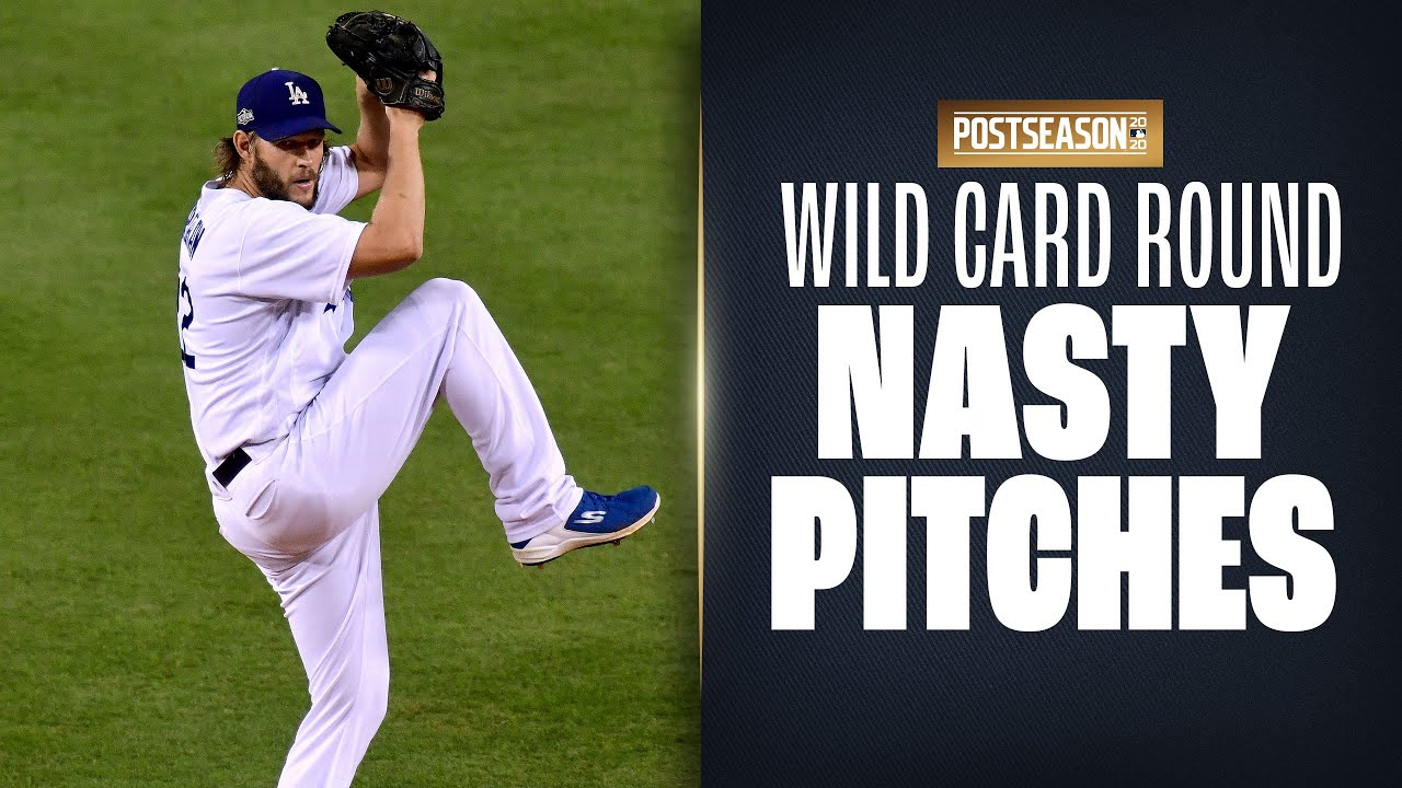 Nasty Pitching from MLB Wild Card round! (Gerrit Cole, Clayton Kershaw and more!)