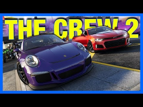 The Crew 2 Gameplay : CARS, BOATS & PLANES!!