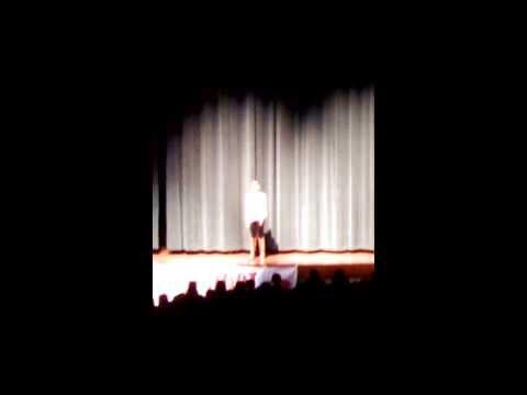 Eily Hallelujah Ames Middle School Talent SHow