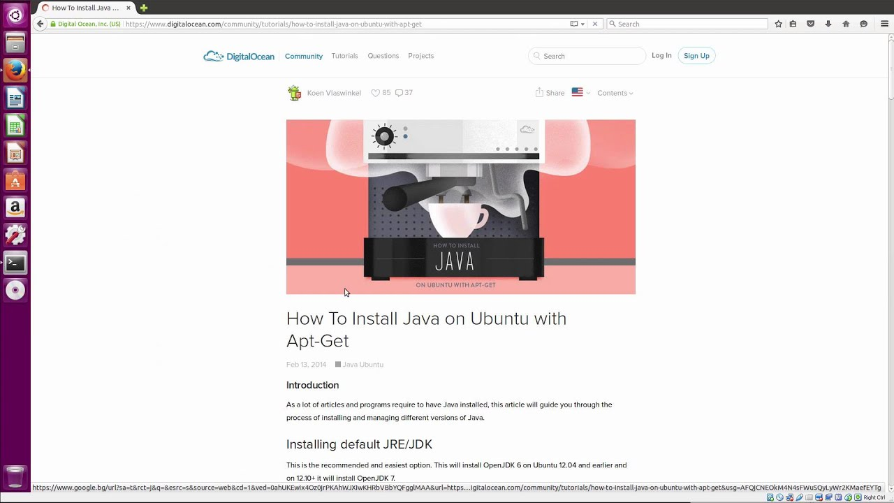 install intellij on linux mint 17
