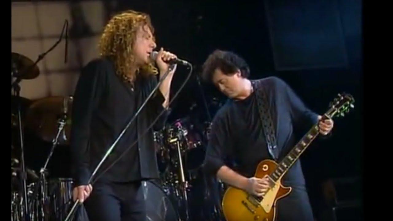 Jimmy Page Amp Robert Plant San Antonio Tx Sept 26