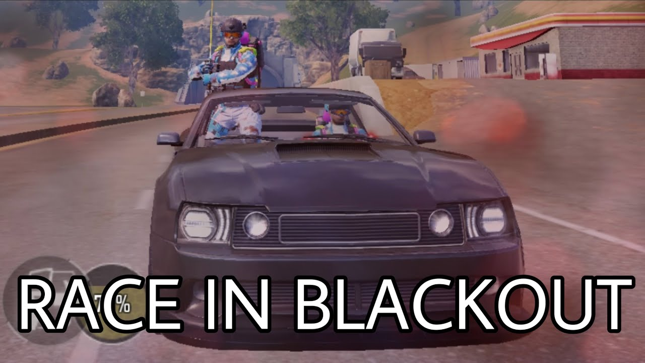 the ultimate race in BLACKOUT