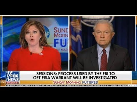 WATCH AG SESSIONS DEFEND ROSENSTEIN AND WRAY OF DEEP STATE FAILURES!