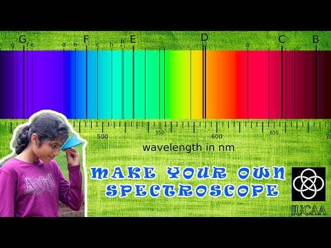 Make your own CD Spectroscope with IUCAA Scipop