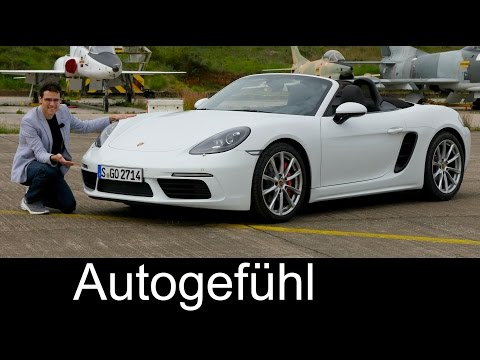 Porsche 718 Boxster S FULL REVIEW test driven Sound/Drift/Acceleration New Neu - Autogefühl