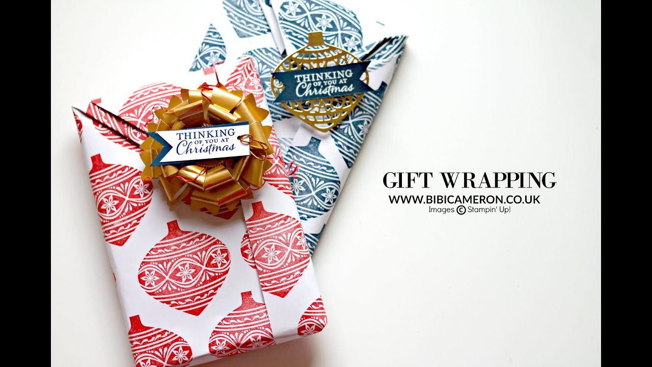 Easy japanese style gift wrapping using tape youtube for Japanese inspired gifts