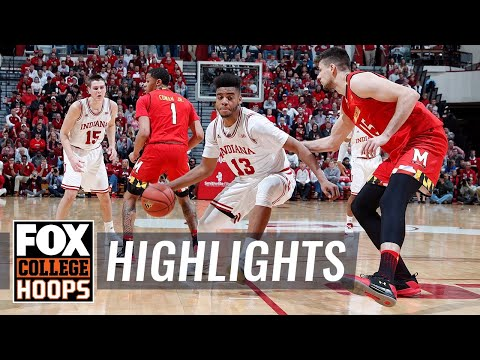 Indiana vs Maryland | Highlights | FOX COLLEGE HOOPS
