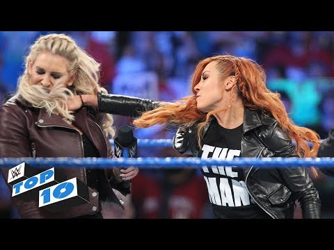 Top 10 SmackDown Live moments: WWE Top 10, January 29, 2019