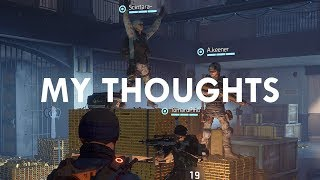 The Division: Thoughts on the Underground Expansion