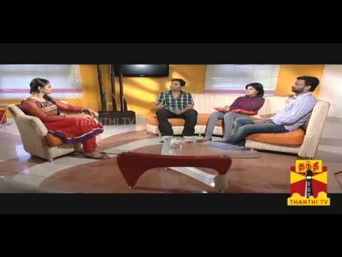 Sandhippoma @ Cinema Cafe - Moodar Koodam Team (Naveen,Pandiraj,Oviya) 15.09.2013 Thanthi TV