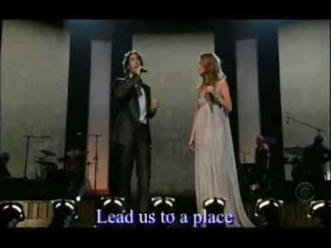 "celine-dion-&-josh-groban-live-""the-prayer""-[with-lyrics]"