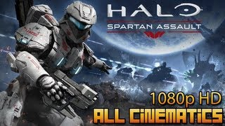 Halo: Spartan Assault | All Cinematics | 1080p HD