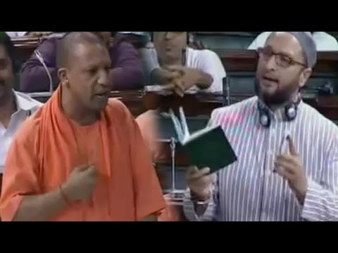 UP CM Yogi Adityanath BEST SPEECH In Lok Sabha - AIMIM leader Asaduddin Owaisi - Uttar Pradesh