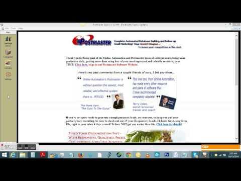Postmaster Software Screenshare Part 1