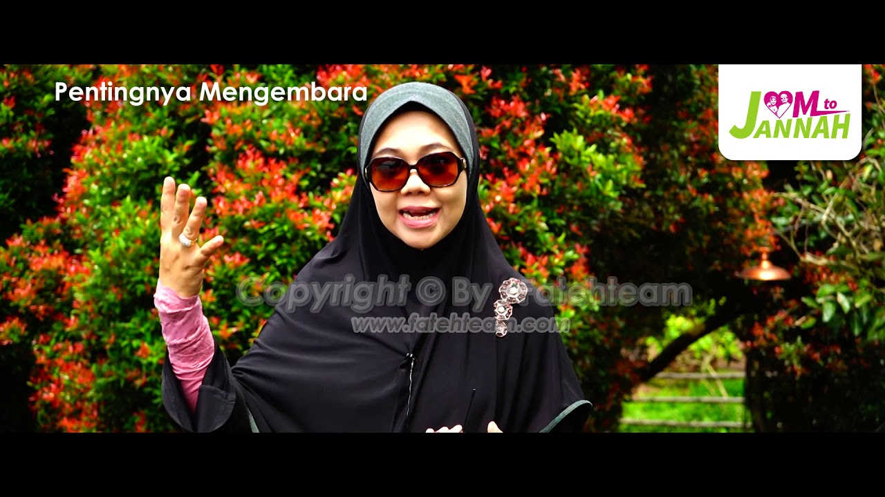Ustazah Datuk Dr Norhafizah Musa - Pentingnya Mengembara
