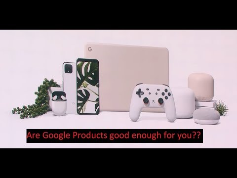 Worth looking into google products?....Google Pixel 4, Earbuds, Pixelbook Go, Nest Mini!