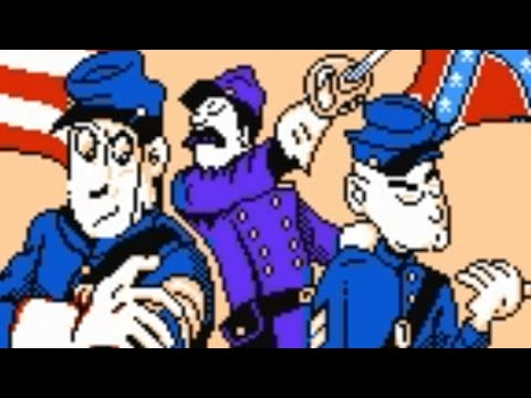 North and South (NES) Playthrough - NintendoComplete