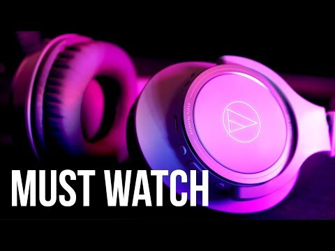 Audio-Technica ATH-SR30BT - 100-HR Battery Headphones For REAL? Unboxing Review (Major 2 BT Rival)
