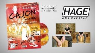 Martin Röttger's Cajon Schule (mit CD und DVD) - Trailer