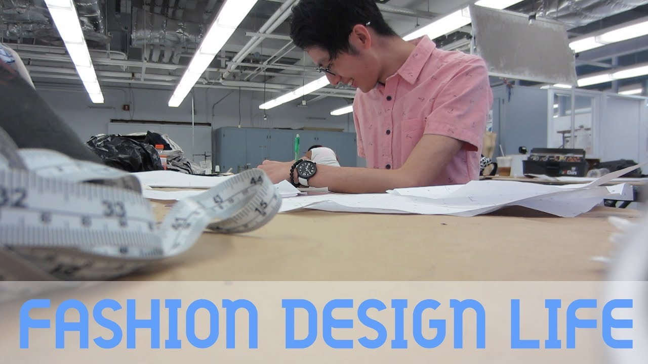A Day Of My Life As A Fashion Design Student Mickray Youtube
