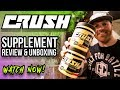 *NEW BRAND* CRUSH FIT Pre-Workout Supplement Review   New Flavors & Packaging   @RobTramonte