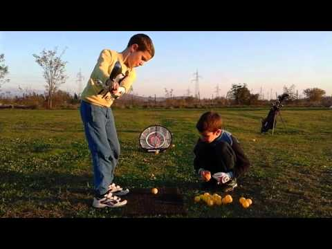 Golf Nice Chipping By Andrej At The Golf Course Podgorica