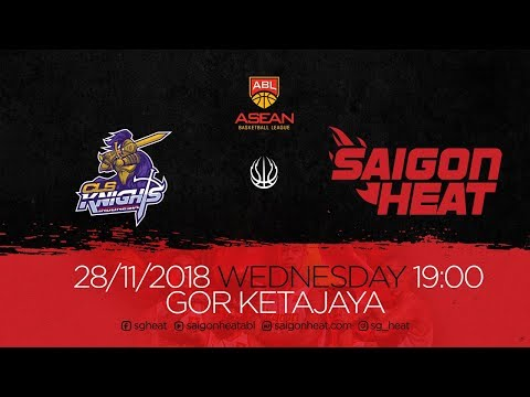 ABL9 || Away Game 1: CLS Knights vs Saigon Heat 28/11 | Full Game Replay