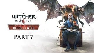 Witcher 3 Blood & Wine Часть 7 Мандрагора