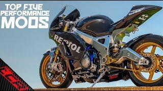 Sports Bike Top Five Modifications!!