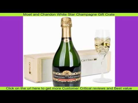 Moet and Chandon White Star Champagne Gift Crate
